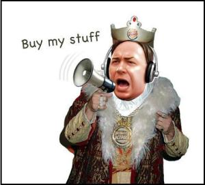 Jones: Buy my stuff!