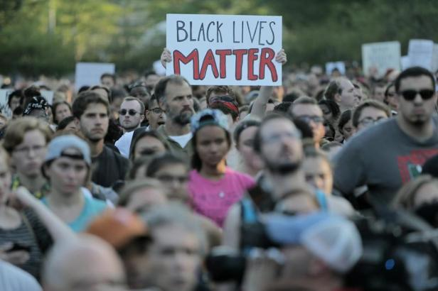 'black lives matter' - White lives are being thrown under the bus.