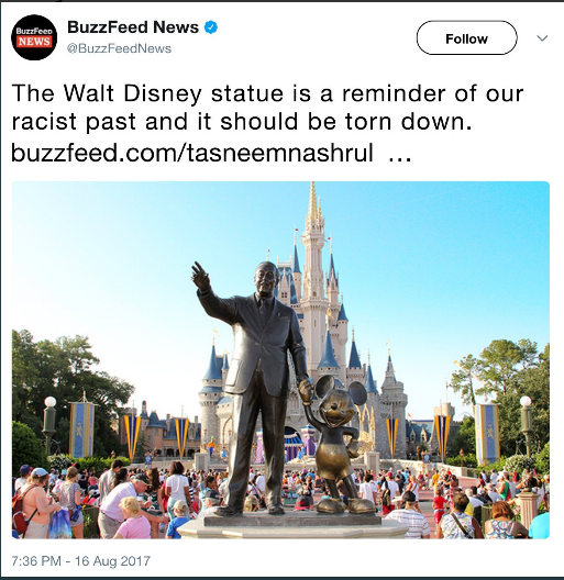 Buzzfeed assault on Disney