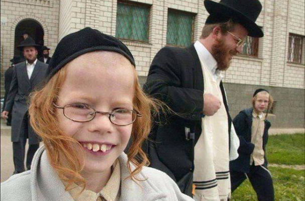 Jewish master race kid