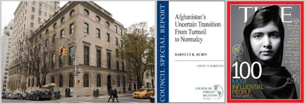 New York-based CFR and 'Malala'