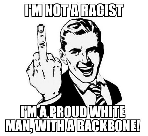 Proud & White...with a backbone