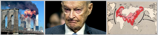 "The ""Pearl Harbor shock effect"" (Brzezinski's words!) of 9-11-2001 was all about the NWO's plot to project American (Globalist) power into Central Asia while encircling Russia and China."
