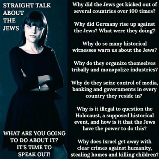 Straight Talk About The Jews