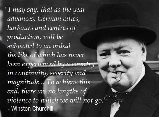 Deranged Drunkard Churchill