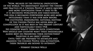 H.G. Wells 'New World Order' Quote