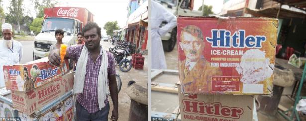 Hitler Ice-Cream in India