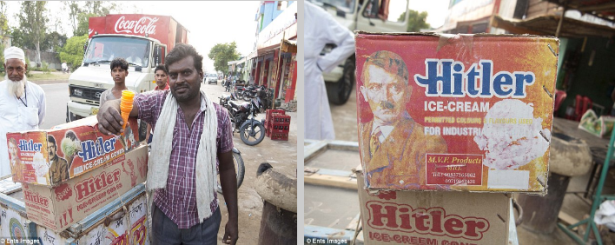 Hitler Ice-Cream in India