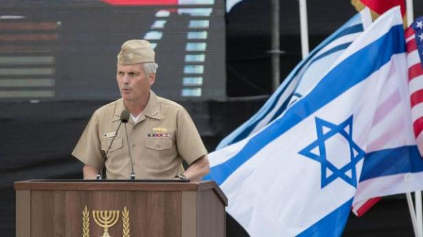 US military under israel's flag