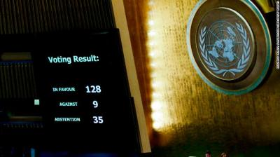 UN Vote To Uphold Intl Law