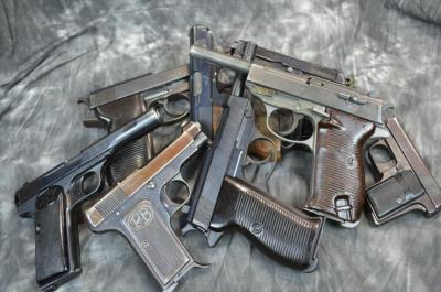 NS German Pistols