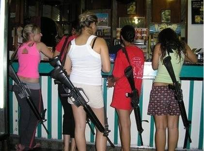 Open carry in Israel.