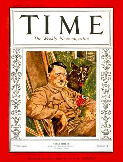 Time Magazine: Adolf Hitler