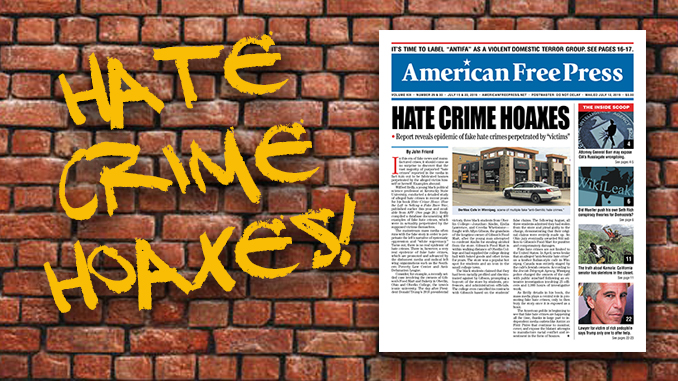 Hate Crime Hoaxes
