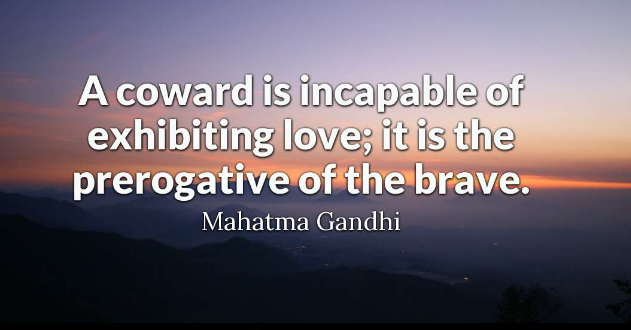 A Coward