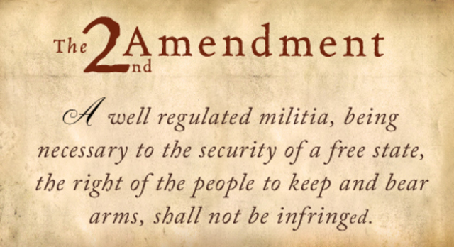The 2nd Amendment